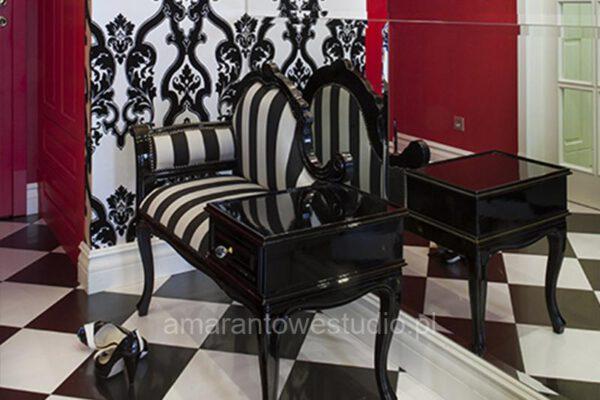 Aranżacja wnętrz luksusowe wnętrze w stylu tradycyjnym Białystok