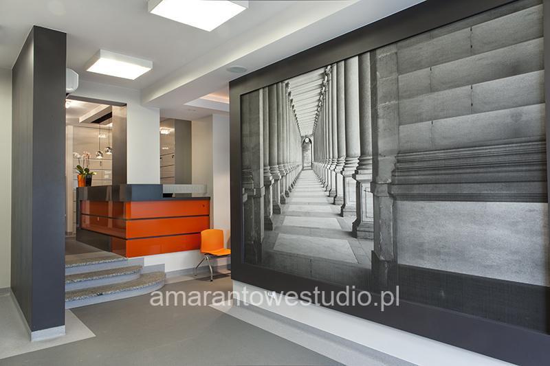 Aranżacja przychodni lekarskiej - wystrój przychodni - przychodnia lekarska - Architekt wnętrz Białystok