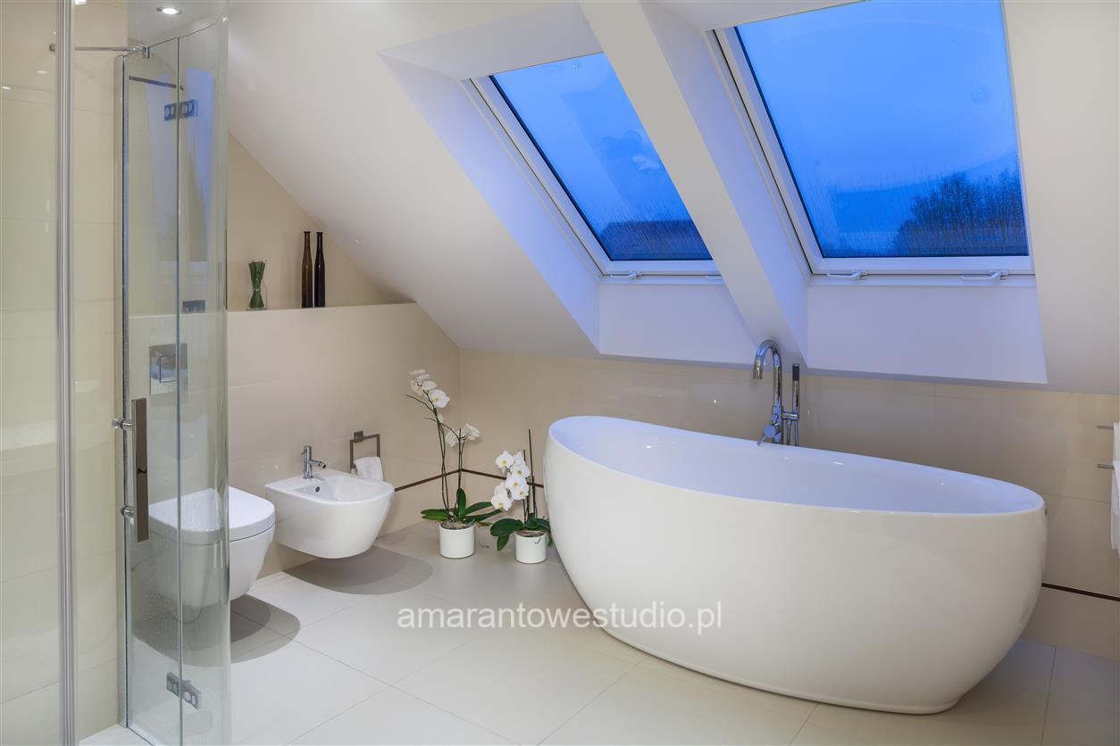 Dom w kolorze bialym - dom w bieli - mieszkanie kolor bialy - Architekt wnętrz Białystok