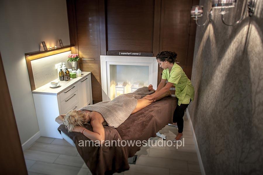 Wystrój gabinetu kosmetycznego - araqnżacja gabinetu kosmetycznego - Oaza Piękna - Amarantowe Studio Białystok