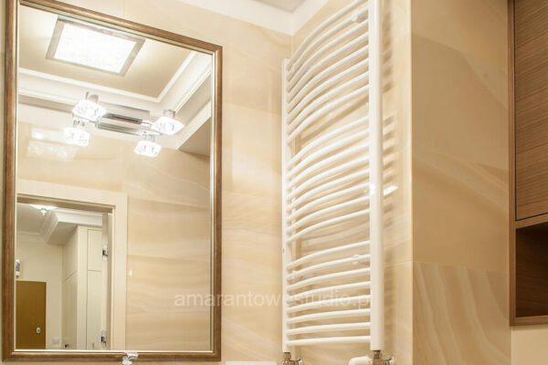 Łazienka według pomysłu projektanta wnętrz Białystok