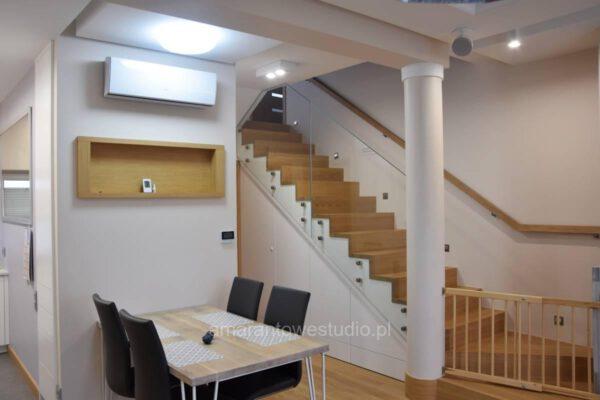 Architektura wnętrza kuchni w wykonani architekta wnętrz Białystok