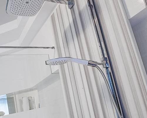 Zaprojektowane przez projektanta wnętrz wnętrze łazienki Białystok