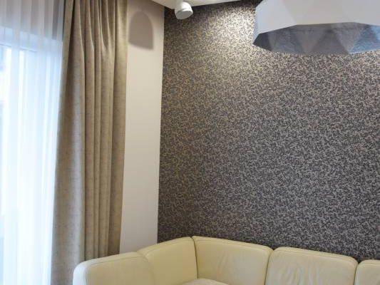 Salon urządzony przez projektanta wnętrz Białystok
