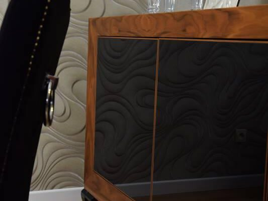 Salon zaprojektowany przez projektanta wnętrz Białystok