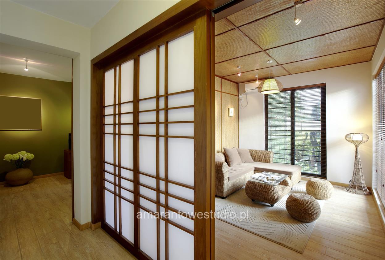 Wnętrza w stylu orientalnym u projektanta wnętrz