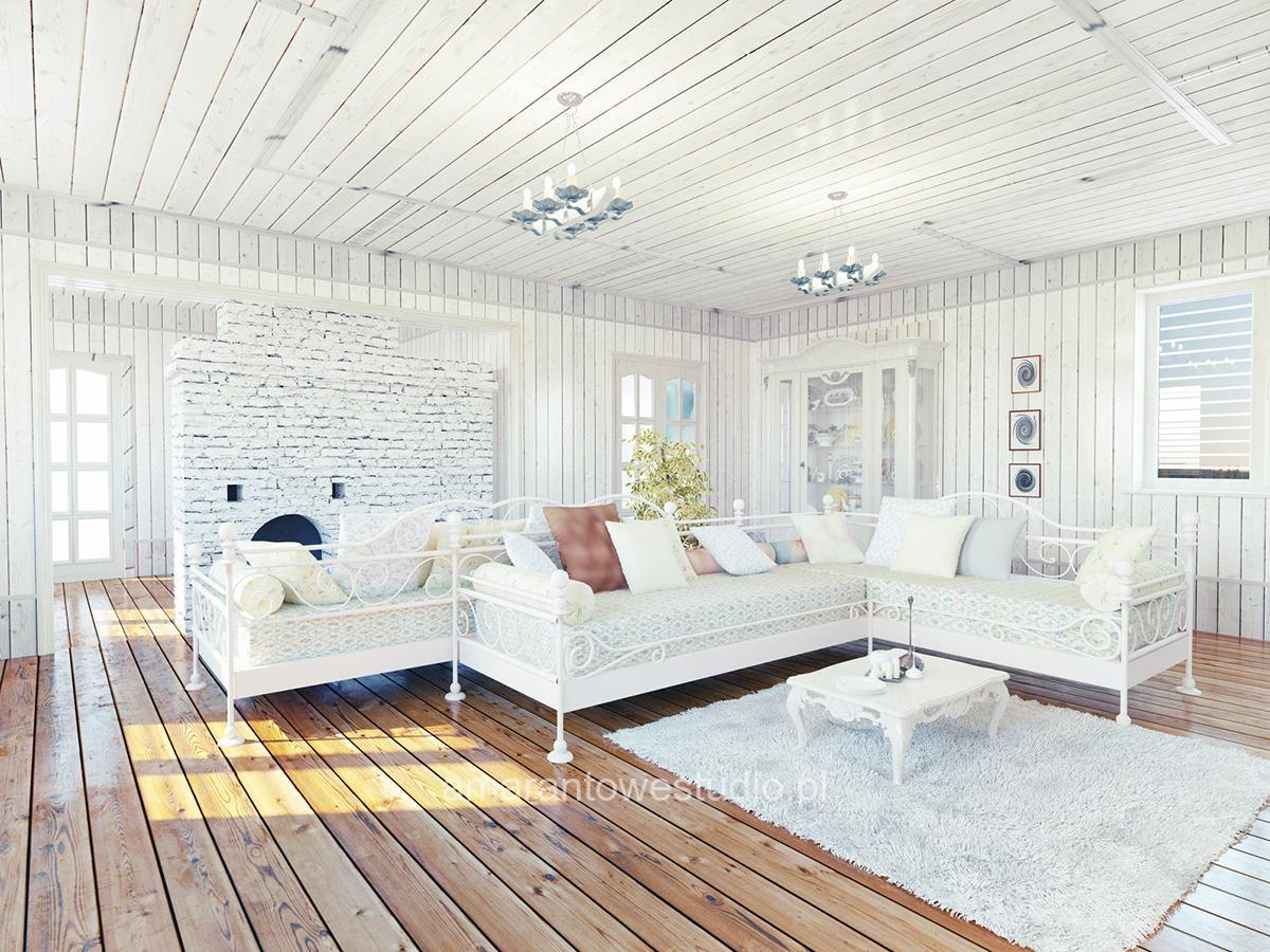 Wnętrza w stylu prowansalskim według projektanta wnętrz