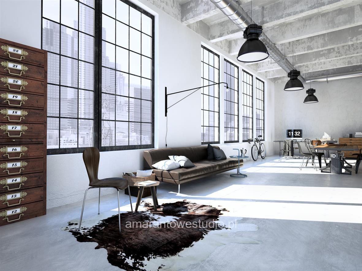 Wnętrza w stylu vintage u projektanta wnętrz