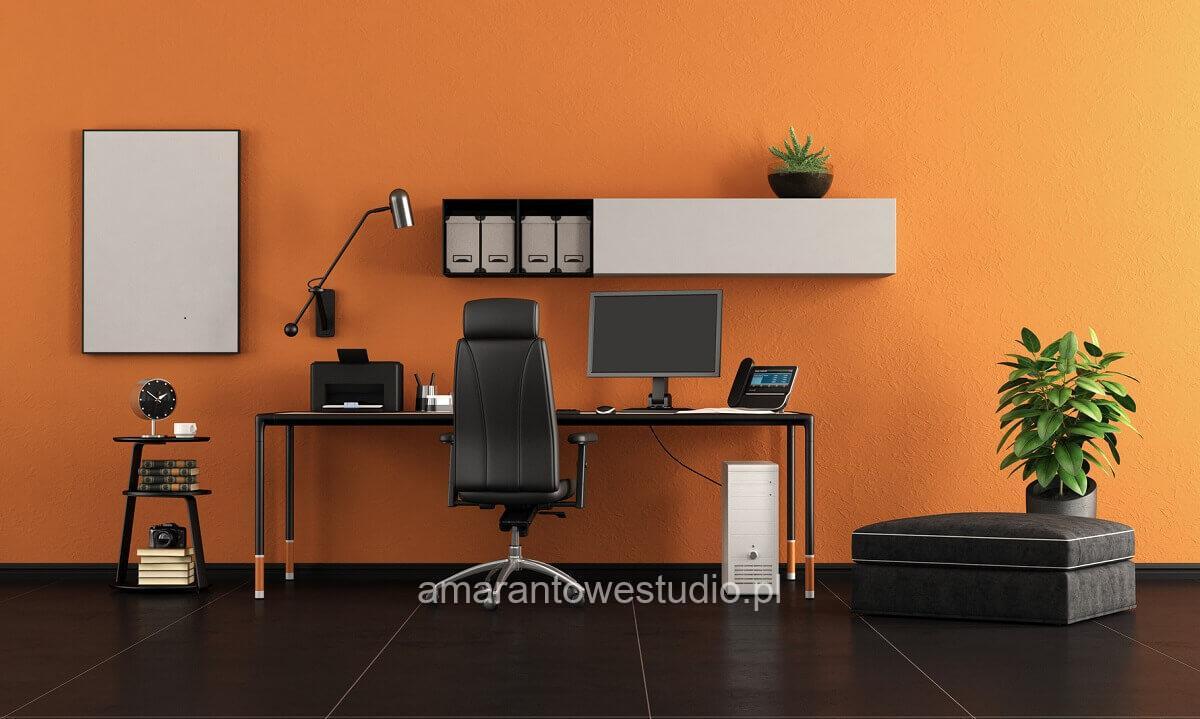 Aranżacja domowego biura – co radzi projektant wnętrz
