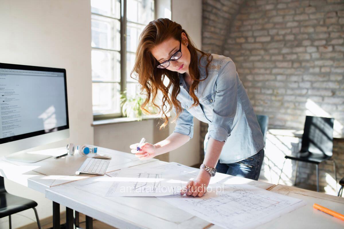 Praca jako architekt wnętrz — poszczególne etapy projektu