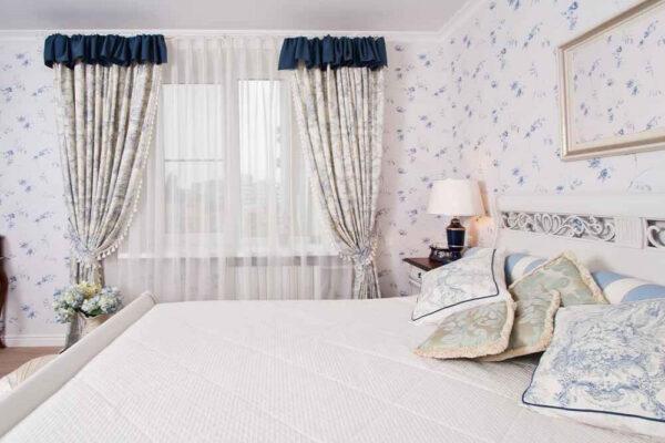 aranżacja wnętrza sypialni prowansalskiej