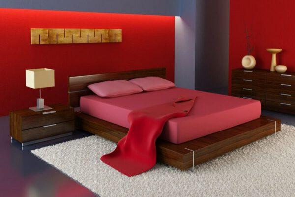 qqaranżacja sypialni styl japoński